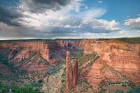 Navajo Indian Reservation, Chinle, AZ, Arizona, thunderstorms, Spider Rock, remote, Canyon De Chelly