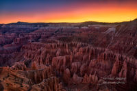 Brian Head, UT, Utah, vibrant, sunrise, Spectra Point, clouds, Cedar Breaks, summer, national monument