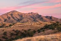 sunset, pink, Ruby Road, Coronado National Forest, Nogales, AZ, Arizona, desert