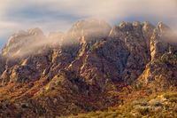 Organ Mountains, Desert Peaks, National Monument, Las Cruces, NM, rain, sun, clouds,  exposure, clouds