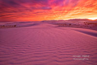White Sands Epic Sunset