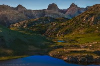 CO, Weminuche, arrow peak, vestal, super moon, Colorado