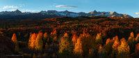 Dallas Divide, San Juan National Forest, Colorado, CO, mountains, autumn