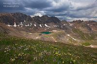 American Basin, CO, Colorado, Sloan Lake, Gunnison National Forest, San Juan Mountains, Silverton, Lake City, paintbrush, wildflowers