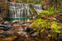 McCloud Falls, waterfalls, CA, California, Shasta-Trinity National Forest, photogenic