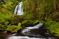 Oregon, Coast, Range, waterfall, falls, kentucky, North Fork Smith River