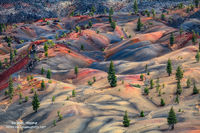 painted desert, incredible, Lassen Volcanic National Park, CA, California