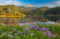 Woods Lake, Telluride, Lizard Head Wilderness, Uncompahgre National Forest, CO, Colorado, ebook, hiking, San Juan Mountains