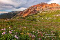 Hope Lake, hiking, Telluride, Colorado, CO, San Juan Mountains, Uncompahgre National Forest