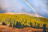 Breckenridge, Colorado, CO, Boreas Pass, rainbow, autumn, weather, light, dramatic, mountains