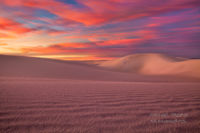 White Sands, National Monument, Las Cruces, NM, New Mexico, full moon, sunrise, moonset, sand dunes
