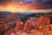 Bryce Canyon National Park, Utah, UT, Silent City, sunrise, light