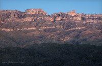 mexico, Sierra Del Carmen, backpacking, Marufo Vega, Big Bend National Park, Texas, twilight, mountain