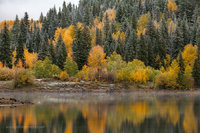 Kebler Pass, Gunnison National Forest, Colorado, September, autumn, snow, Lost Lake, mountains, CO, Crested Butte