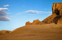 cryptobiotic rock, lake powell, Utah, UT, clouds, pastel colors, light