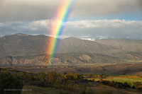 rainbow, Gunnison, Black Canyon of the Gunnison National Park, Owl Creek Pass, Uncompahgre National Forest, Silverton, CO, Colorado