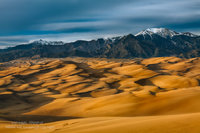 great sand dunes national park, colorado, CO, hike, winds, dunes