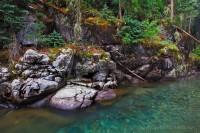 Vallecito Creek, Weminuche Wilderness, gorge, water, CO