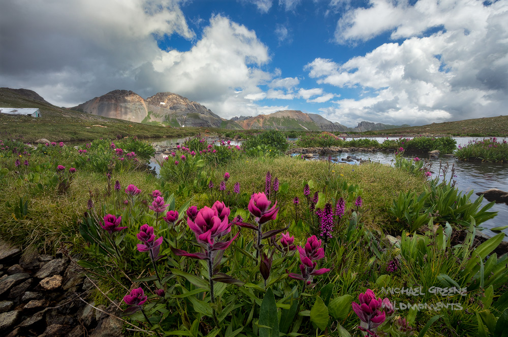 paintbrush, ice lakes basin, silverton, Colorado, ryan dyar, pacific northwest, exploring, photo
