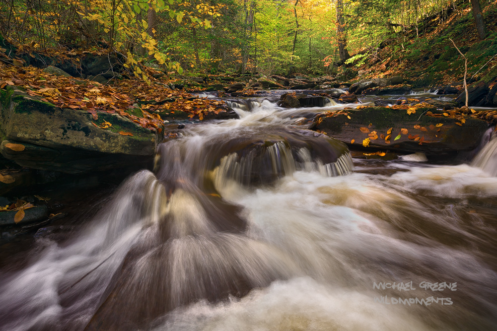 cascades, waterfalls, Ricketts Glen State Park, Pennsylvania, Scranton, PA, Glen Leigh, hiking, trails, October, autumn, colors, photo