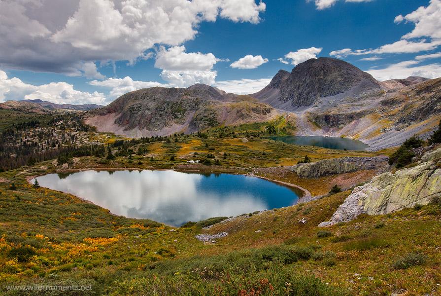 Weminuche, wilderness, Rincon La Vaca, Colorado, views, lake, photo
