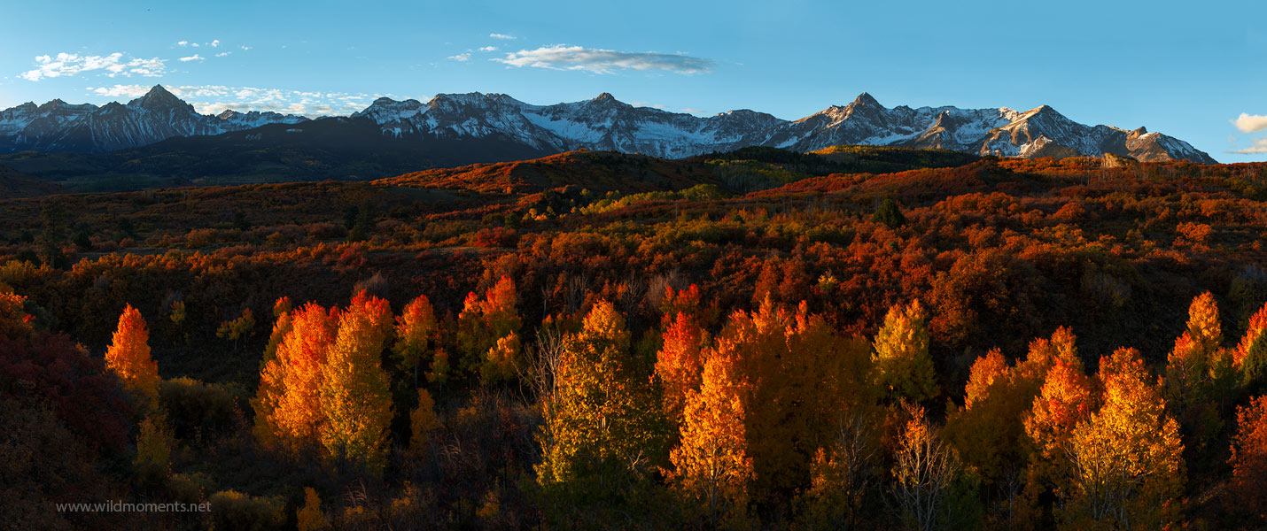 Dallas Divide, San Juan National Forest, Colorado, CO, mountains, autumn, photo