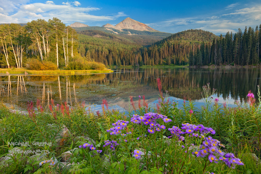 Woods Lake, Telluride, Lizard Head Wilderness, Uncompahgre National Forest, CO, Colorado, ebook, hiking, San Juan Mountains, photo