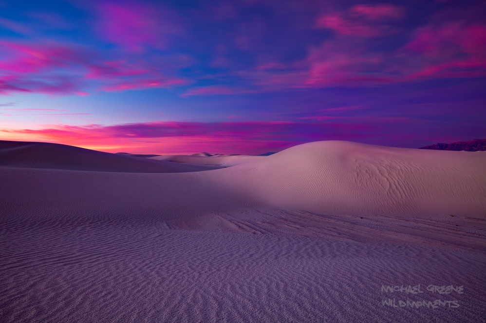 White Sands, National Monument, Las Cruces, NM, New Mexico, full moon, sunrise, sand dunes, colors, epic, photo