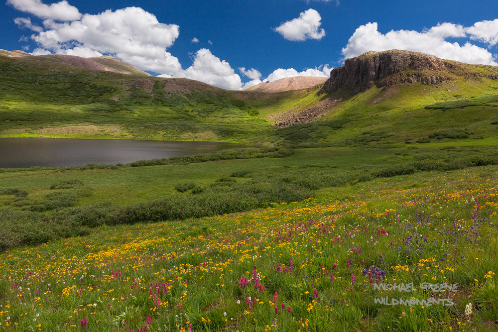 Cataract, August, Gunnison National Forest, Continental Divide, Lake City, Colorado, CO, San Juan Mountains, ebook, hiking, photographing, photo