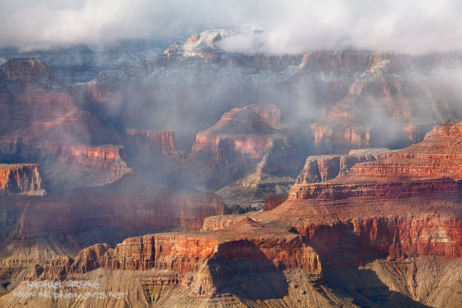 Grandview Point, light, color, sun, canyon, Grand Canyon National Park, AZ, photo