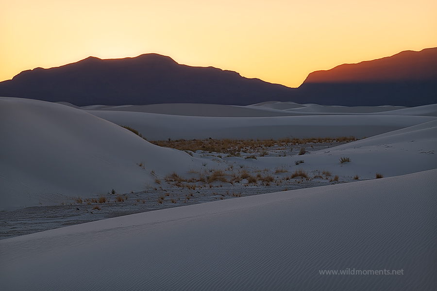 interdune flats, light, san andreas mountains, light, white sands national monument, nm, photo