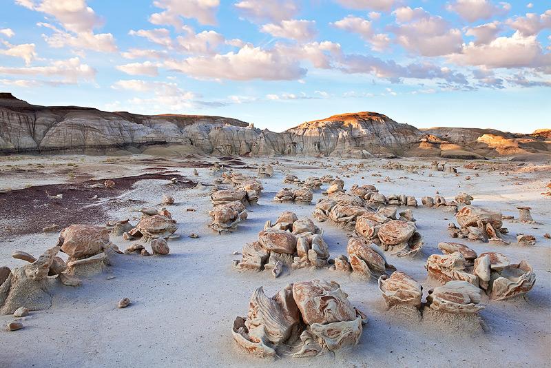Bisti,Badlands,New Mexico,sunrise,otherworld,rock,landscape, photo