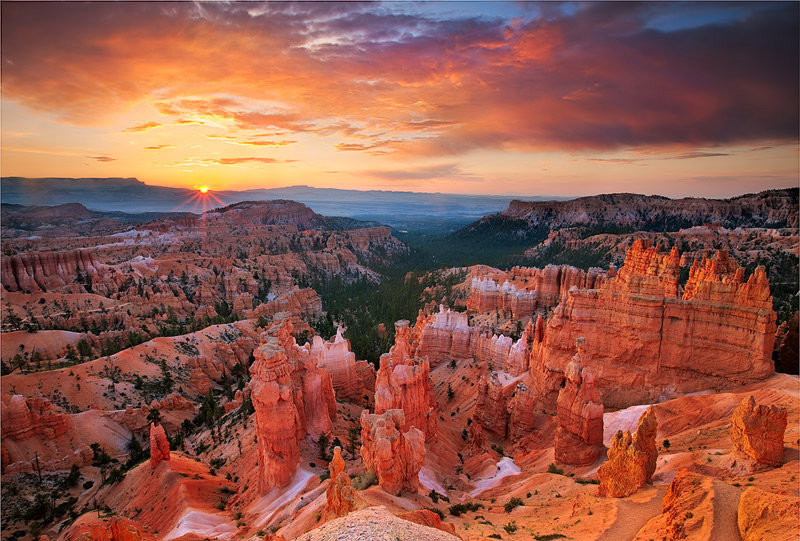 Bryce Canyon National Park, Utah, UT, Silent City, sunrise, light, photo