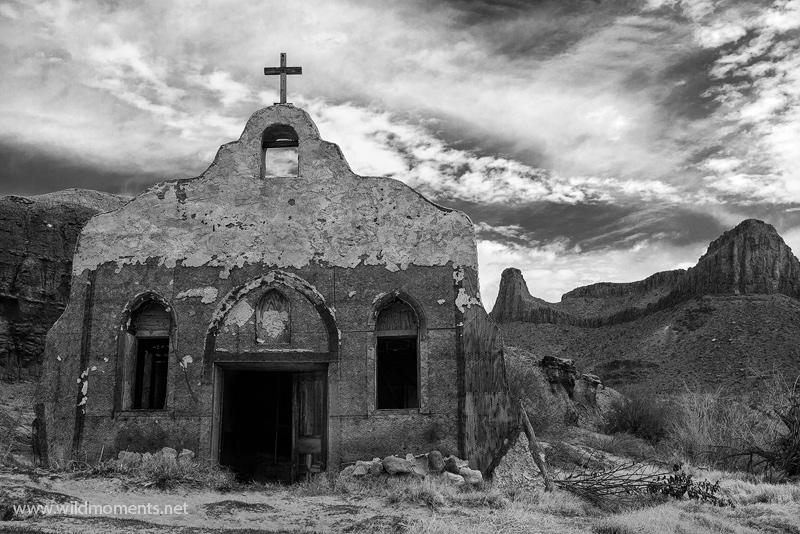 contrabando, big bend ranch state park, texas, church, rio grande river, up hill all the way, movie set, photo