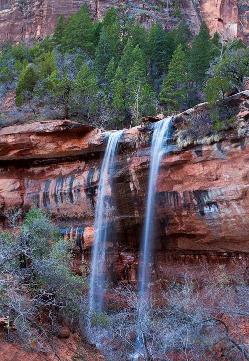 canyon, emerald pools, spring, waterfalls, Utah, Zion National Park, UT, photo