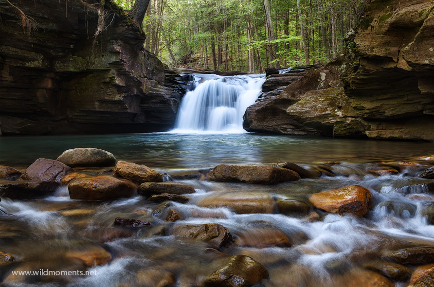 Mill Creek Falls, PA, Pennsylvania, Hillsgrove, swimming hole, hidden, loyalsock state forest, mountain, photo