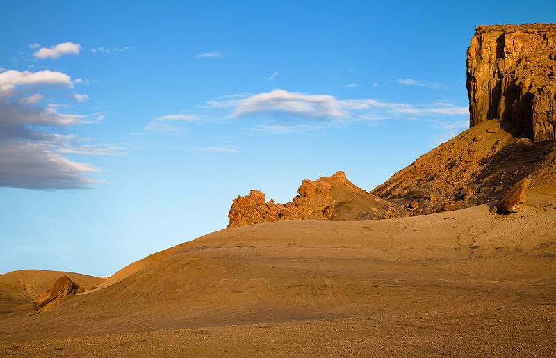 cryptobiotic rock, lake powell, Utah, UT, clouds, pastel colors, light , photo