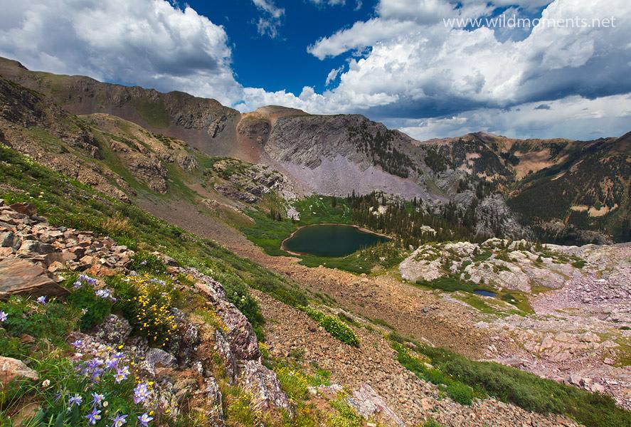 mirror lake, Colorado, alpine, weminuche, CO, , photo