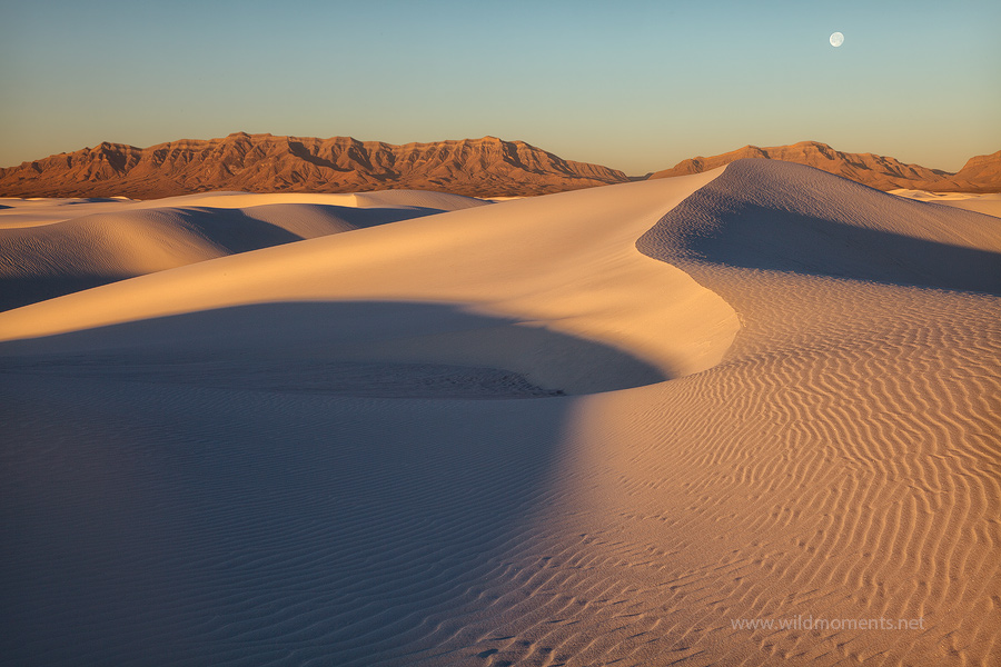 colors, light, dunefields, white sands national monument, NM, New Mexico, moon, photo
