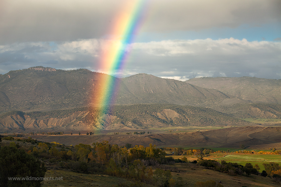 rainbow, Gunnison, Black Canyon of the Gunnison National Park, Owl Creek Pass, Uncompahgre National Forest, Silverton, CO, Colorado, photo