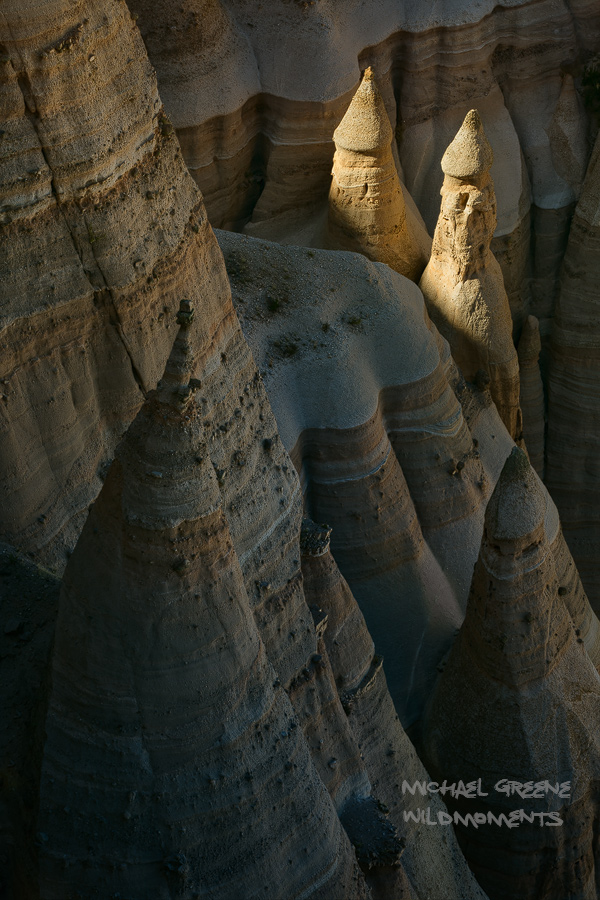 Tent Rocks National Monument closes before sunset and the rangers will not let visitors stay in the park for photography without...