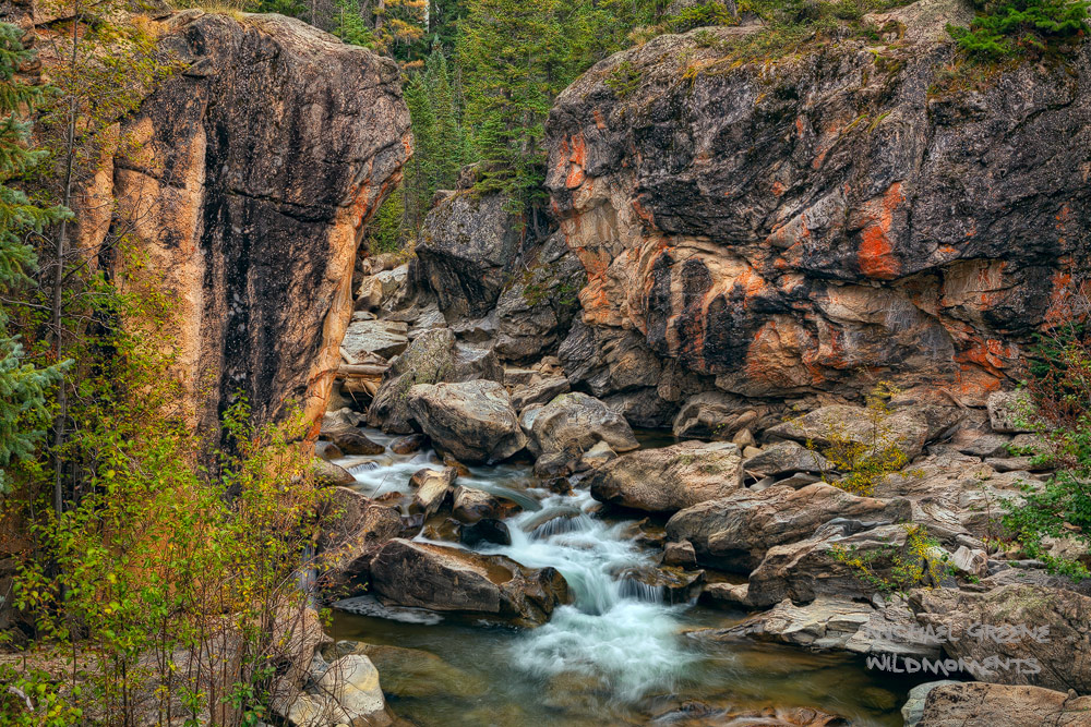 Located just outside of the mountain town of Aspen, CO is a quaint, yet stunning gorge found along highway 82 near Independence...