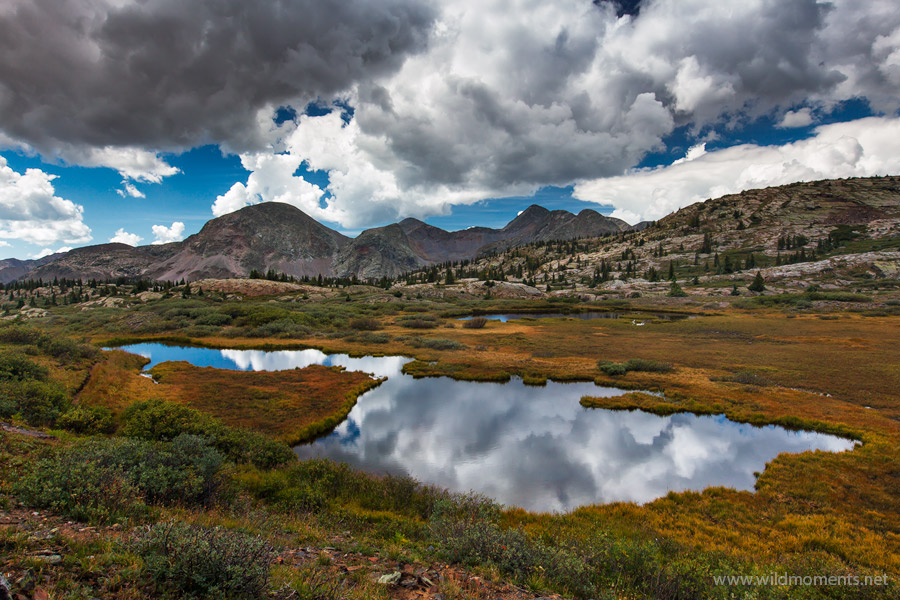 What you are looking at is one of the deepest spots in Colorado's largest wilderness. A remote tributary of the Flink Lakes region...