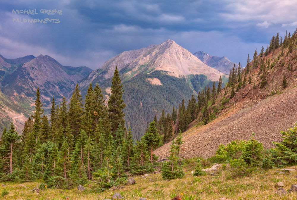 Dramatic views abound on the hike to Hematite Lake near Silverton. Learn more about this spectacular location in my ebook, Capturing...