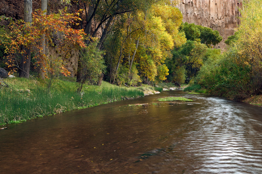 This delicate, gentle section of canyon was the perfect place for an early autumn, afternoon picnic.