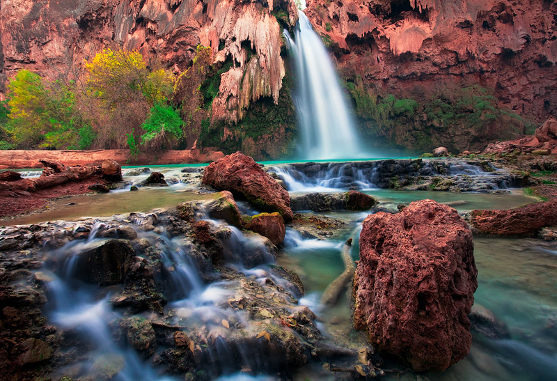 A cryptic display of rock and disheveled earth is testament to the flash flood that devastated Havasupai Canyon in 2009, so much...
