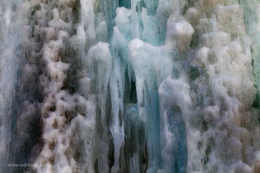 Some of the best detail and color of ice that I noticed during my early spring trip to the San Juan Mountains near Lake City...