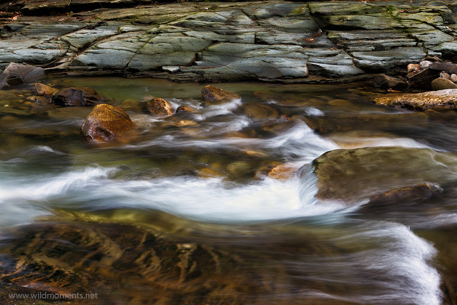 Rock Run, also known as Pennsylvania's most beautiful stream, is a stimulating delight on the senses. It's signature slick rock...
