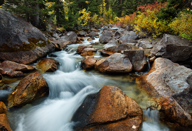Autumn is a quiet time of year in the Grand Tetons. The hordes of summer tourists are gone and ski season has yet to begin. Water...